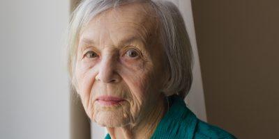 Eine ältere Dame
